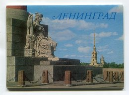 USSR 1979 SET OF 10 Pcs.POSTCARDS LENINGRAD (SAINT PETERSBURG) ARCHITECTURE - Russland