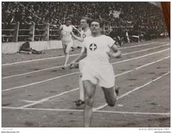 1926 STADE JEAN BOUIN JOSEF IMBACH ( SUISSE ) GAGNE LE 400M - ATHLÉTISME - Photo Agence ROL Rue RICHER PARIS 9 - Sports