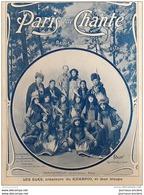 1904 PARIS QUI CHANTE - LE KIKAPOO LES ELKS - DRANEM - LA CHARLOTTE - V. LEJAL - BLONDINETTE DALAZA - MARCEL LEGAY - Scores & Partitions