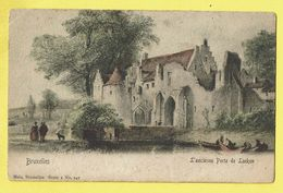 * Laken - Laeken (Brussel - Bruxelles) * (Nels, Série 1, Nr 147 - COULEUR) Ancienne Porte De Laeken, Animée, TOP, Unique - Laeken