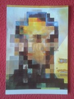 SPAIN POSTAL 42 GALA DESNUDA MIRANDO AL MAR A 18 M. PRESIDENTE ESTADOS UNIDOS ABRAHAM LINCOLN TEATRO DALÍ SALVADOR USA - Peintures & Tableaux