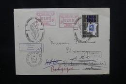 BELGIQUE - Enveloppe De Bruxelles Pour Kelmis La Calamine Et Retour En 1986, Cachet De Paris Recherches - L 54078 - Cartas