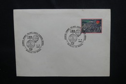 BELGIQUE - Oblitération Temporaire De Bruxelles Sur Les Premiers Hommes Volants En 1983  - L 54081 - Cartas