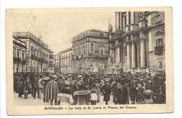 SIRACUSA - LA FESTA DI S. LUCIA IN PIAZZA DEL DUOMO - Siracusa