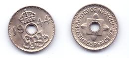 New Guinea 3 Pence 1944 - Papua New Guinea