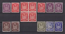 Deutsches Reich - 1923 - Michel Nr. 235+263/67 - Ungebr./Gest./Postfrisch - 105 Euro - Germany