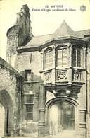 CPA - Belgique - Antwerpen - Anvers - Entrée Et Logia Au Musée Du Steen - Merksplas