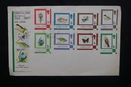 GIBRALTAR - Enveloppe FDC En 1977 - Faune Et Flore - L 54094 - Gibraltar