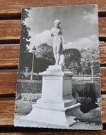 PARIS JARDIN DES TUILERIES DIANE CHASSERESSE PAR E LEVEQUE CARTE PUB DACTIL - Statues