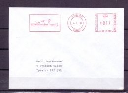Great Britain  - BUPA  Gatwick Park Hospital - Horley 1/1/91   (RM5753) - Cygnes