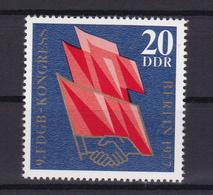 9. FDGB-Kongress Berlin 1977, ** - [6] République Démocratique