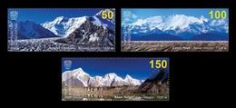 Kyrgyzstan (KEP) 2020 Mih. 148/50 Mountains. Seven-Thousanders Of Kyrgyzstan MNH ** - Kyrgyzstan