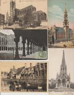 N 219  Lot 100 CPA Différentes De Belgique - Postcards