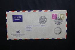 DANEMARK - Enveloppe 1ere Liaison Aérienne Danemark  / Amérique Du Sud En 1946 , Affranchissement Plaisant - L 54100 - Cartas