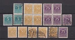 Deutsches Reich - 1923 - Michel Nr. 274/76 - Postfrisch/Gest. - 70 Euro - Germany