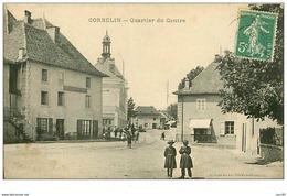 38.CORBELIN.n°70.QUARTIER DU CENTRE - Corbelin