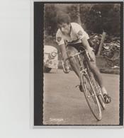 PHOTO   8,8 Cm   X   14  Cm   MIROIR SPRINT        T.SIMPSON - Cyclisme