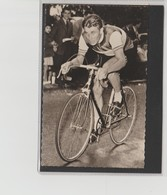 PHOTO   8,8 Cm   X   14  Cm   MIROIR SPRINT        J. ANQUETIL - Cycling