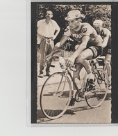 PHOTO   8,8 Cm   X   14  Cm   MIROIR SPRINT        R.POULIDOR - Cycling