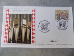FDC MONACO 2012 : Grand Orgue De La Cathédrale De Monaco - FDC
