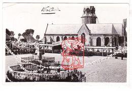 PK 2x Watou Poperinge - Versierde Kerk En Plein M Kiosk 1934 / St.-BavoKerk M Kerkhof Ed. Boerhave - Pittem