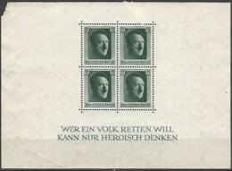 ALLEMAGNE / EMPIRE 1933-1945  / BLOC N° 8 NEUF Sans Gomme - Duitsland
