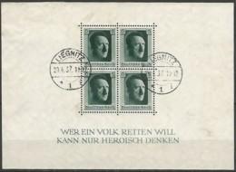 ALLEMAGNE / EMPIRE 1933-1945  / BLOC N° 8 OBLITERE - Duitsland