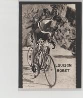 PHOTO   8,8 Cm   X   14  Cm    VERSO VIERGE        LOUISON BOBET - Cyclisme