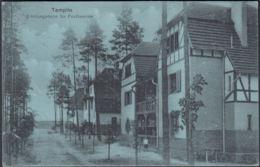 AK Templin, Erholungsheim Für Postbeamte, Gel. 1913 - Templin