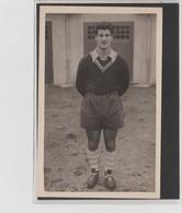 PHOTO    8,7 Cm  X  14 Cm    FOOTBALLEUR  A IDENTIFIER    MARCEL VIGNAL ???                      ANNEE 50/60 - Football