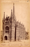 Leipzig, Peterskirche, Photo H.Walter, Cabinet, Format Kabinet - Fotos
