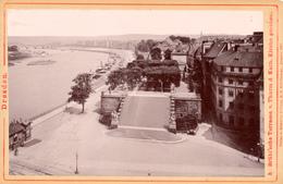 Dresden, Brühl'sche Terrasse, Cabinet, Format Kabinet, Römmler & Jones - Fotos