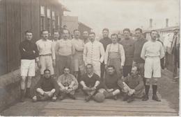 CPA 1916-          CAMP DE  WORMS - Football