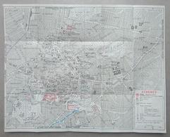 CARTE PLAN MAPA MAP 1967 - 32 X 41 Cm - GRECE GREECE GRECIA - ATHENES - ATHENS - ATENAS - ATENE - ATHEN - Topographical Maps