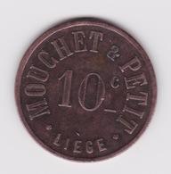 Jeton - Token - MOUCHET & PETIT - LIEGE - BELGIQUE - Monetary / Of Necessity