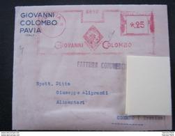RS1 ITALIA EMA AFFR. MECCANICA REGNO - 1941 PAVIA GIOVANNI COLOMBO CRISTOFORO COLUMBUS AMERICA STORY - Us Independence