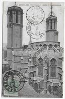 ESPAGNE - 1913 - CARTE De BARCELONA => TAFORALT (BUREAU FRANCAIS RARE) Via TANGER (BUREAU ESPAGNOL) ! - 1889-1931 Kingdom: Alphonse XIII