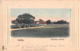 SALDUS MAHZITAJA MUISCHA   1915  (Feldpost) CARTE GAUFREE - Lettland