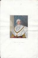 Tableau Peinture Par Duplessis Et Gravé Par Pannier: Louis XVI, Roi De France 1754-1793 - Estampes & Gravures