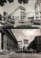 2 Photos Originales Bordeaux Vers 1970/80 & Auto Citroën GS, Peugeot 104, 404 & 504, Renault 5 & Rue Animées - Lieux