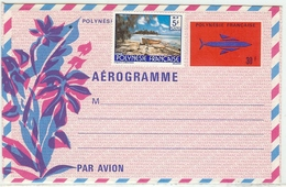 LCH - POLYNESIE FRANCAISE - AEROGRAMME N°3 - Aérogrammes