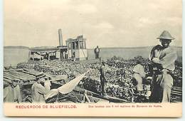 Recuerdo De Bluefields - Dos Lanchas Con 6 Mil Racimos De Bananas De Kukra - Nicaragua