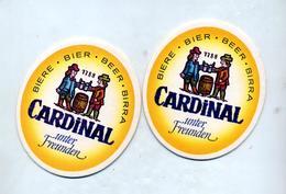 Sous Bock Biere  Cardinal - Sous-bocks