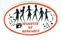 BEAUWELZ - Autocollant - La Jeunesse - Momignies