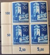 GENERALGOUVERNEMENT 1940 - MNH - Mi 48 - Bloc Of 4! - Occupation 1938-45