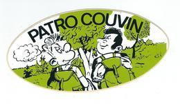 COUVIN - Autocollant - Patro - Couvin