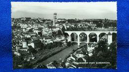 La Sarine Et Pont Zaehringen Switzerland - FR Fribourg