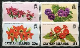 Kaimaninseln Mi# 482-5 Postfrisch MNH - Flora Flowers - Kaimaninseln