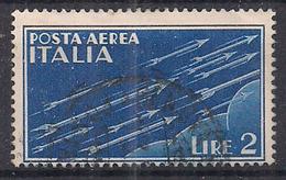 REGNO D'ITALIA 1930-32   POSTA AEREA SOGGETTI ALLEGORICI SASS. 15 USATO VF - Posta Aerea