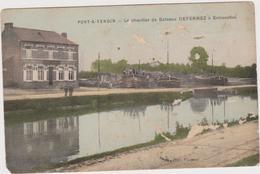 Pont-à-Vendin  Le Chantier De Bateaux  DEFERNEZ à Estrevelles - France